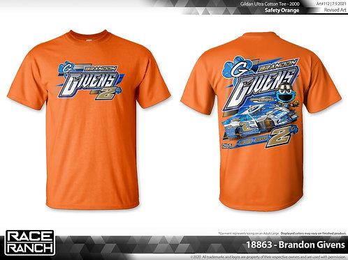 Brandon Givens - Cookie Monster Tee Limited Edition Neon Orange