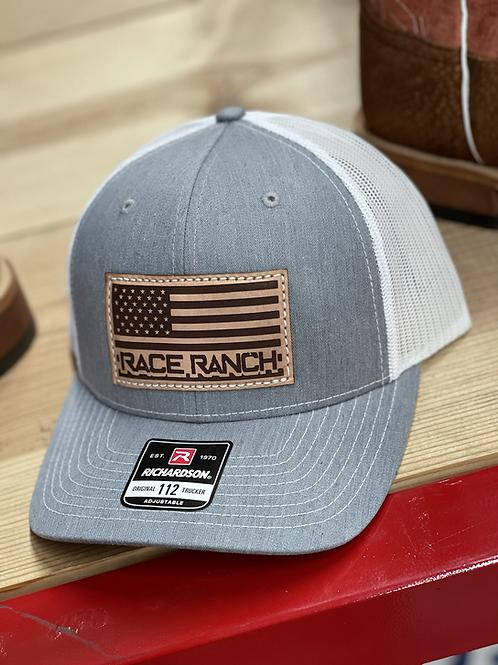 RRW - 112 Race Ranch Flag Patch Hat