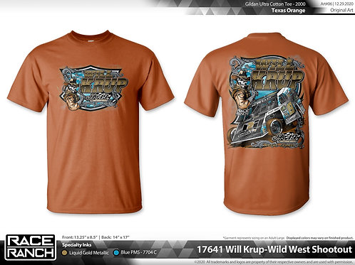 JHA Motorsports: Will Krup Wild West Tee