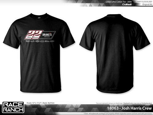 Josh Harris Racing: 2021 Crew Shirt.