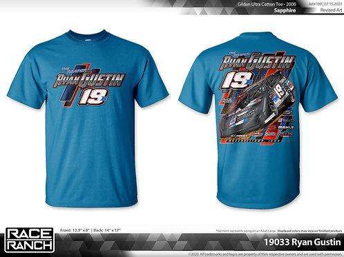 Ryan Gustin: Clean and Mean Tee Limited Edition sapphire