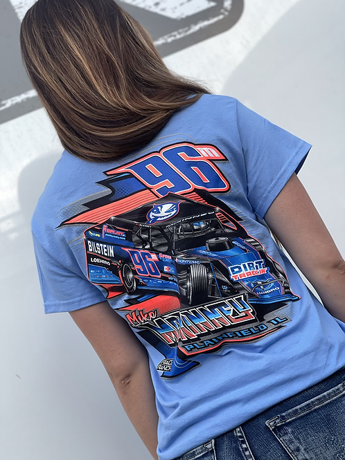 Mike McKinney Motorsports: Darkside Tee Carolina Blue