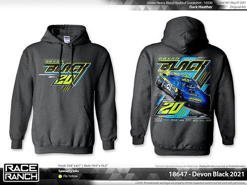 Devin Black Racing - 2021 hoodie