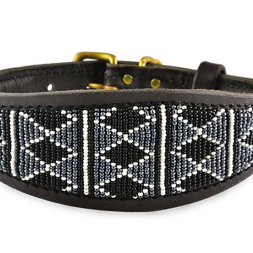 Halsband Whippet Rafiki black | Zinj design