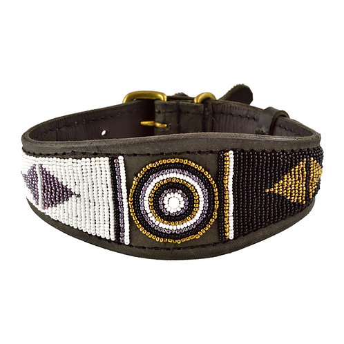 Hundhalsband Whippet Swahili | Zinj design