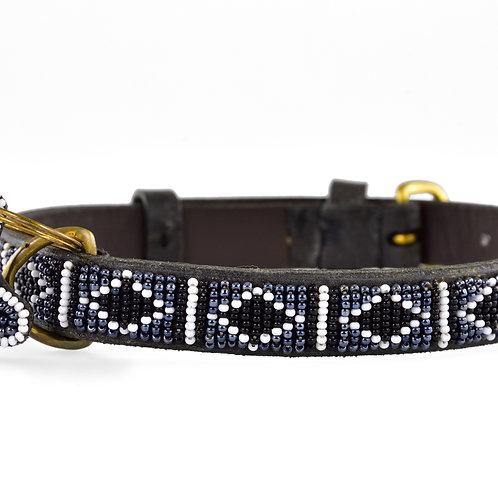 Hundhalsband Skinny Swahili antique