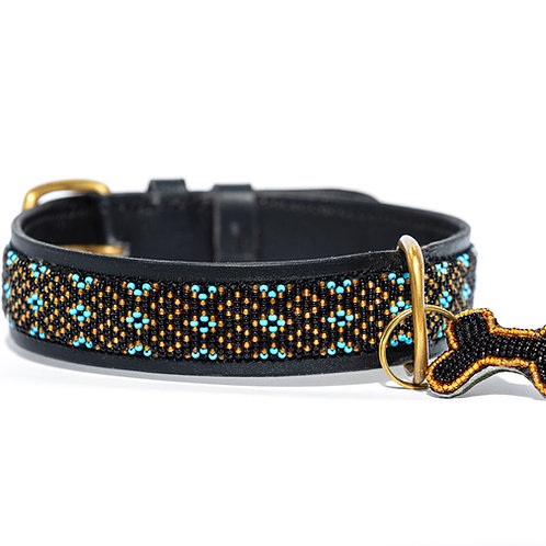 Hundhalsband Faraja Turquoise