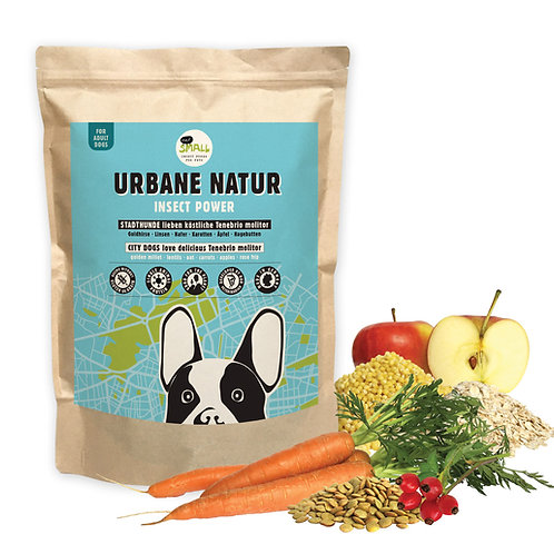 Hundfoder Eat Small Urbane Natur