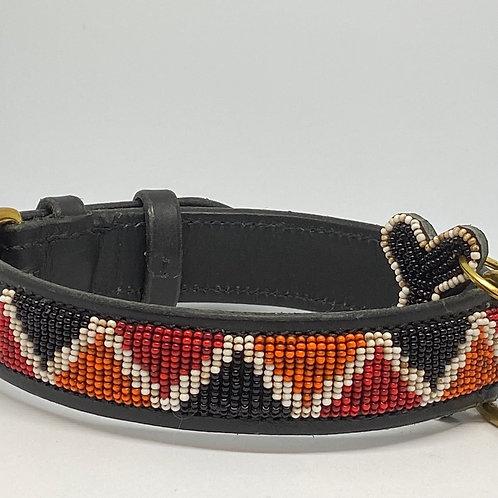 Hundhalsband Himba Black | Zinj Design