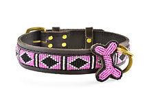 Hundhalsband Rafiki pink.jpg