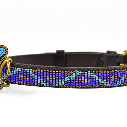 Hundhalsband Skinny Kabaka blue