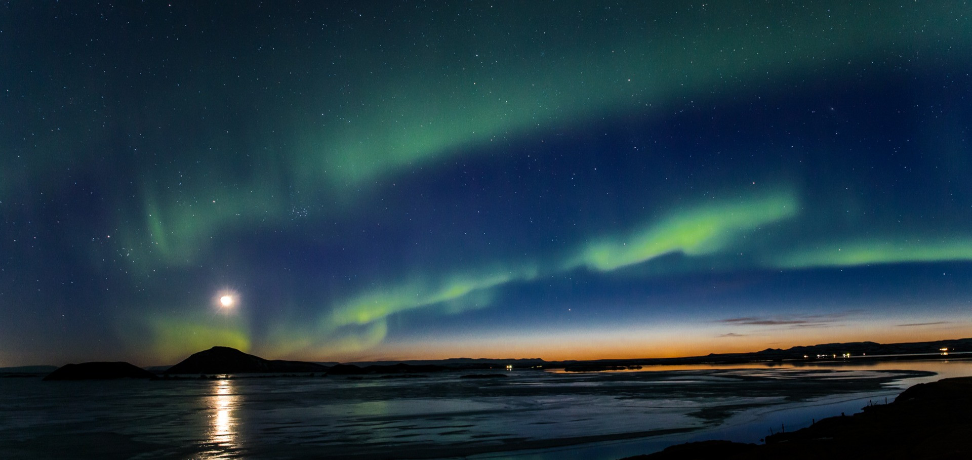 NORTHERN LIGHTS OVER MÝVATN