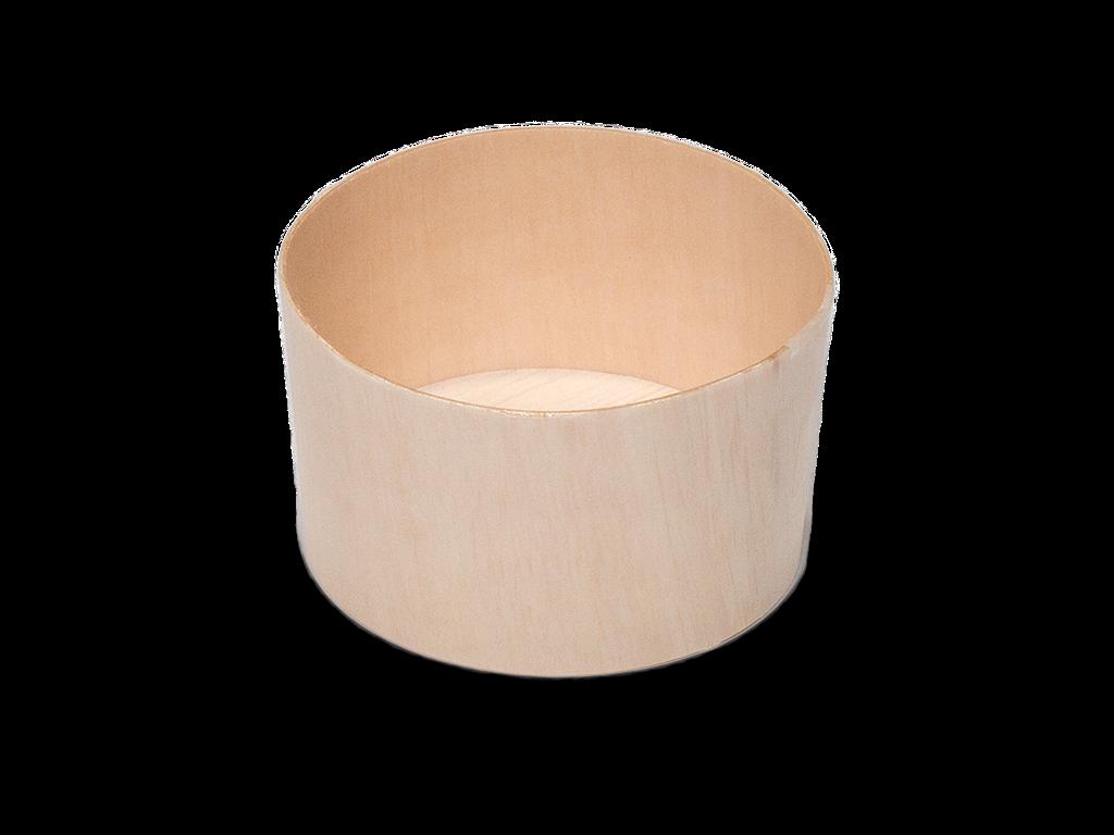 Round Wooden Pot