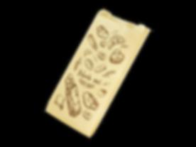 tea brown paper gusset bag