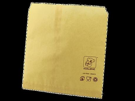 tea brown paper flat bag