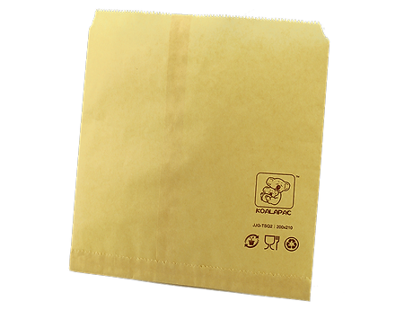 tea brown paper flat bag