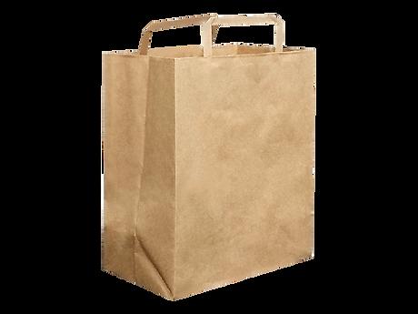 kraft paper carry bag