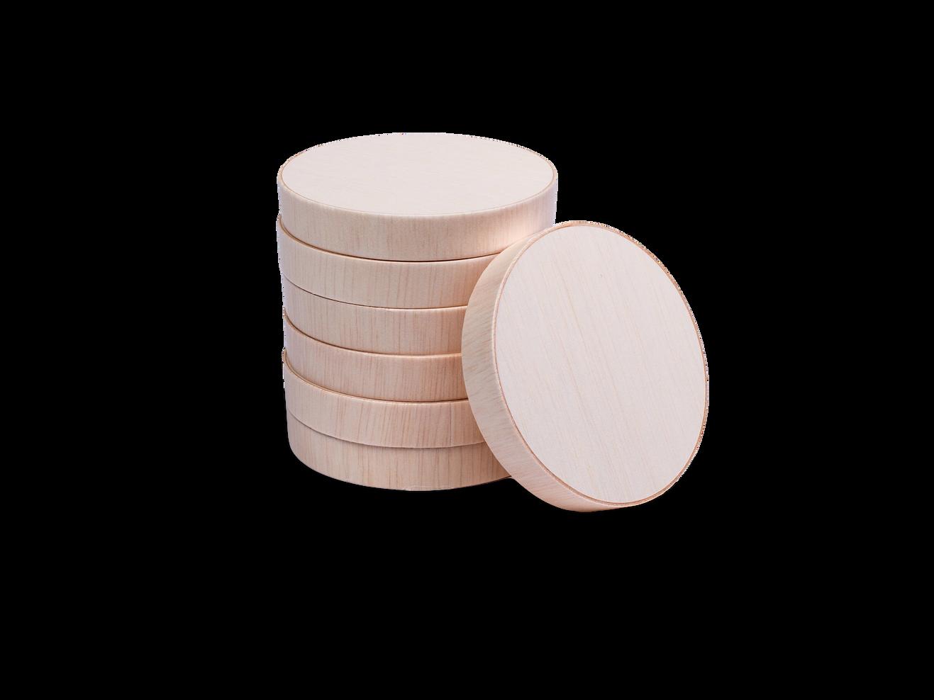 Round Wooden Lid