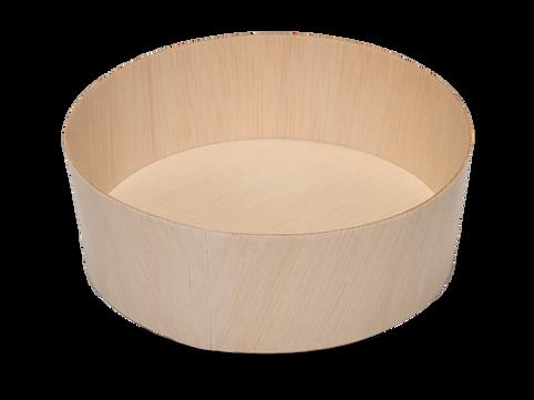 515ml Round Wooden Box