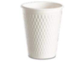 Double Wall Paper Hot Cup and Matching Lid