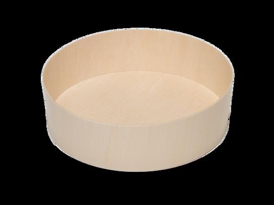 735ml Round Wooden Box