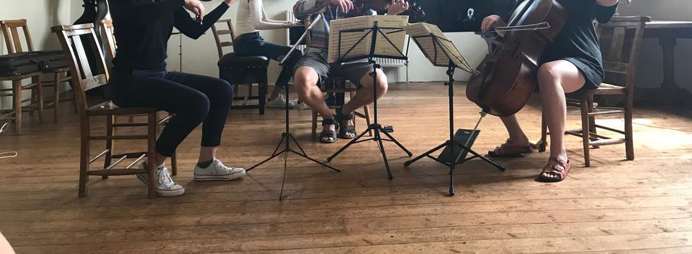 Odora Trio with violist Tom Dunn