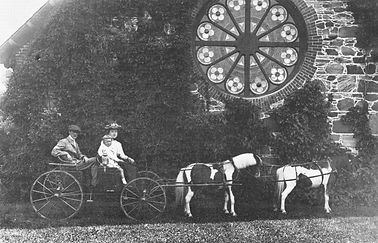 St Andrew's c 1890 Carriage in Yard.jpg