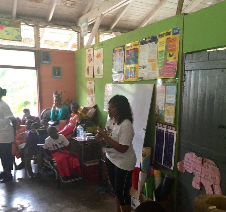 Charity work in Jamaica