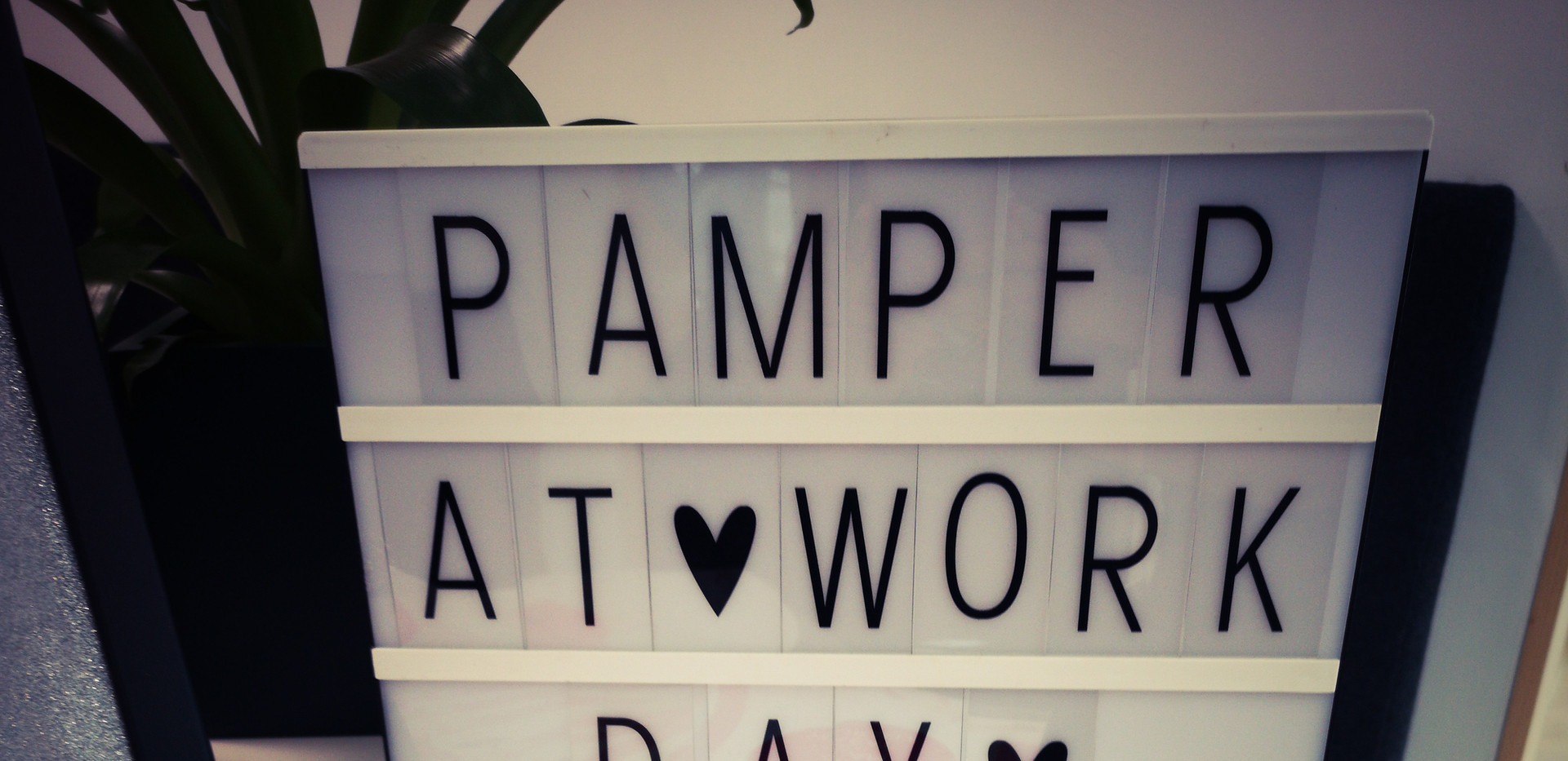 Office Pamper Day