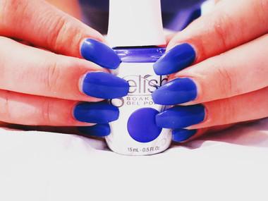Dip Powder Acrylic Nails + Gelish
