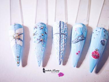 Winter Wonderland Inspired Nails 2020