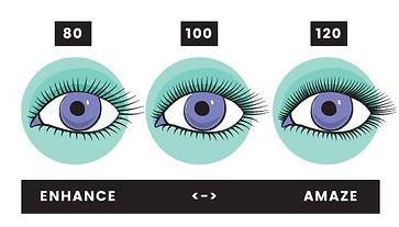 How many lashes