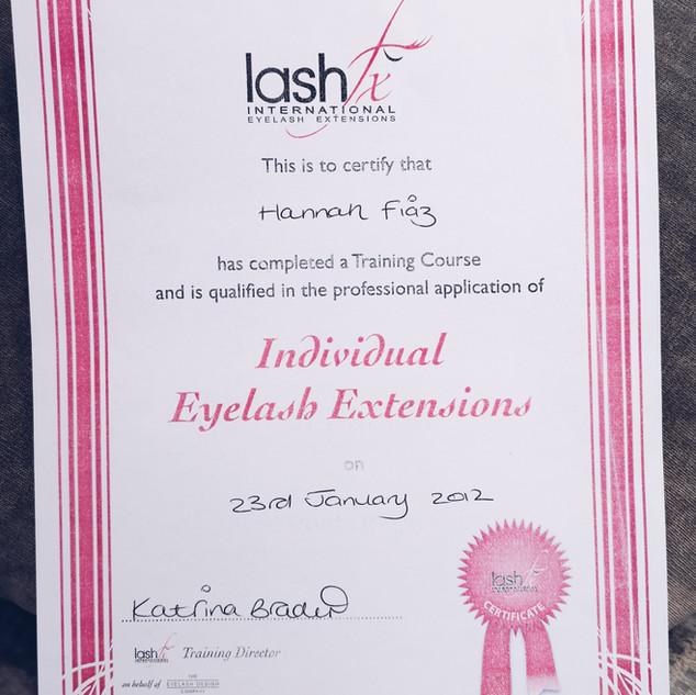 LASHFx Individual Lash Extensions