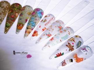 NEW Xmas Foil Nail Art 2020