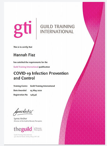 COVID-19 Infection Prevention and Control