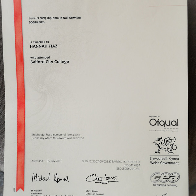 City & Guilds Certificate