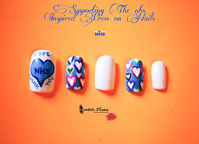 NHS Inspired Press on Nails