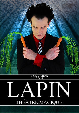Affiche spectacle LAPIN