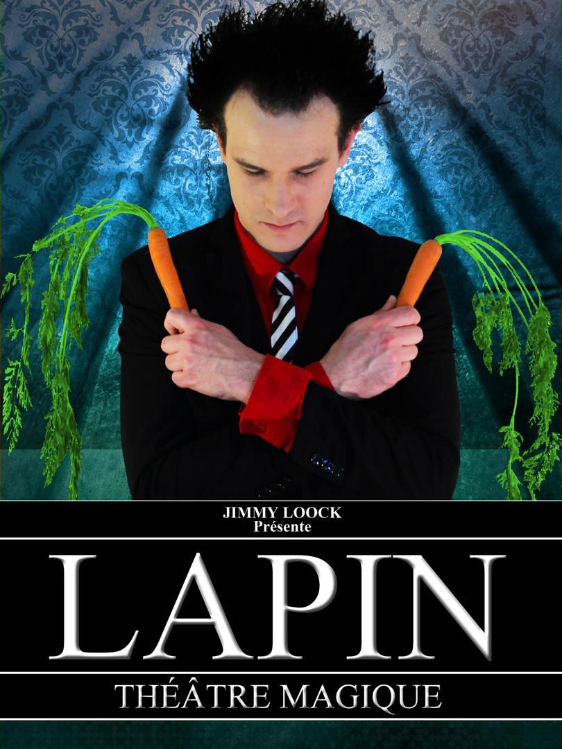 Affiche du spectacle LAPIN