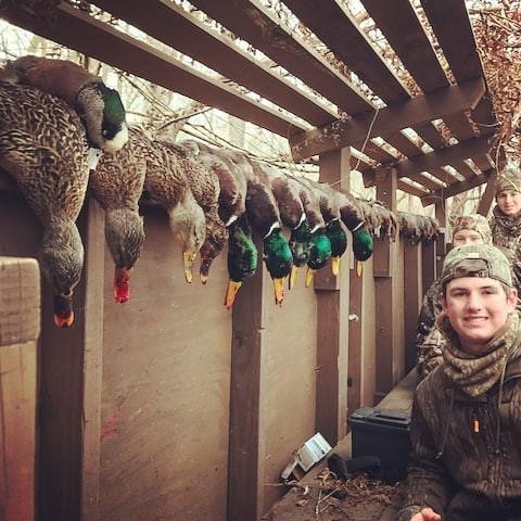 Get em boys! #mallardmonday #duckhunting