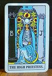 Tarot Card The High Priestess