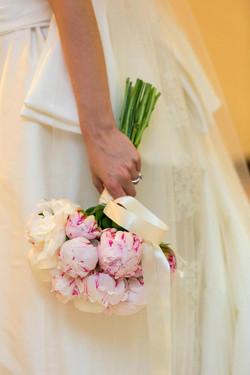 Bouquet da Sposa con peonie