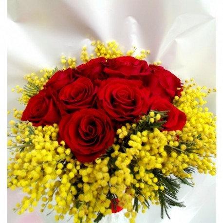 Rose stelo corto (da €25)