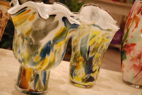 Vasi in vetro artistici Colori Pastello (€32-€145)
