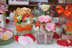 Composizioni rose stablizzate