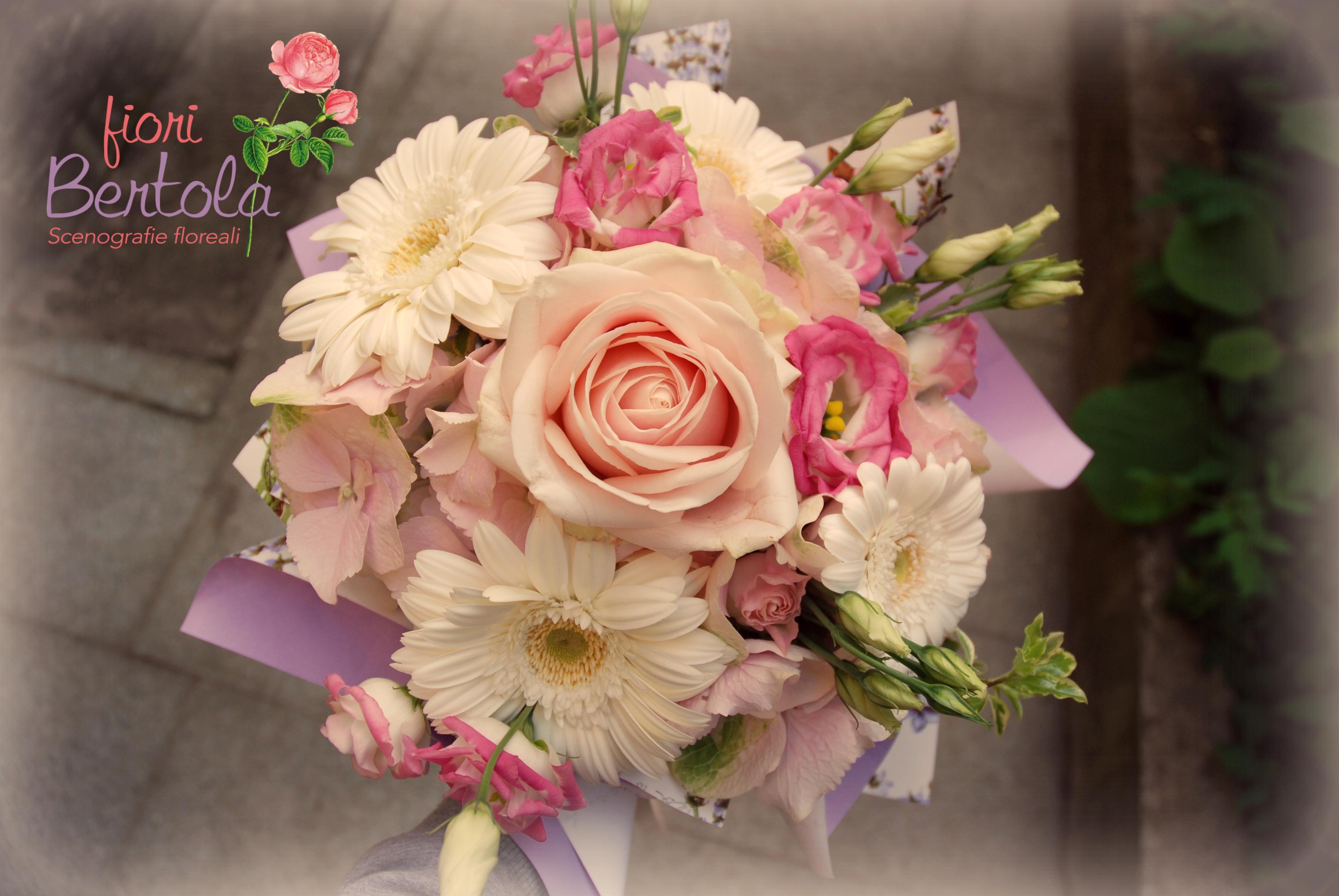 Bouquet rosa-lilla
