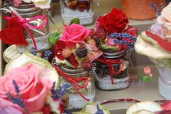 Spezie con rose stabilizzate