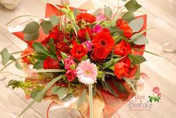 bouquet rosso