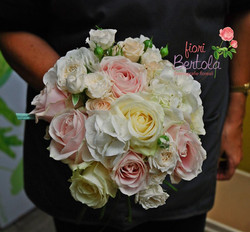 Bouquet in stile shabby-chic