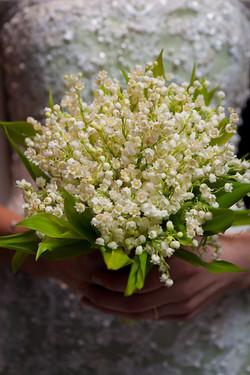 Bouquet da Sposa con mughetti